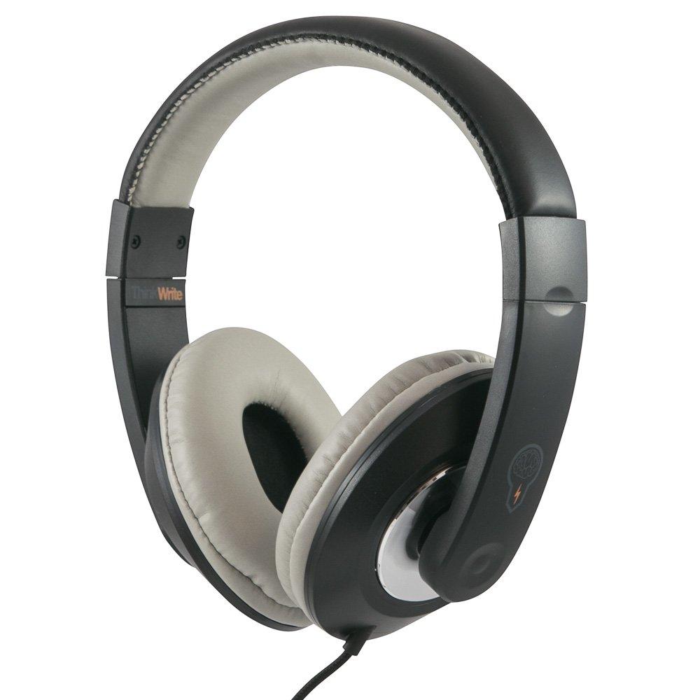 ThinkWrite Premium Headphone for Apple iPad, Google Chromebook, Kindle Fire, Android Tablet and Laptops (Black)