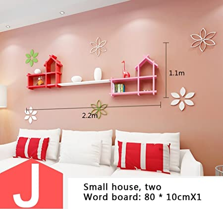 LIEHU HOME-Wall shelves Wall racks, partitions living room TV ...