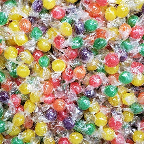 Candy Retailer Sour Fruit Balls Hard Candy 1 Lb