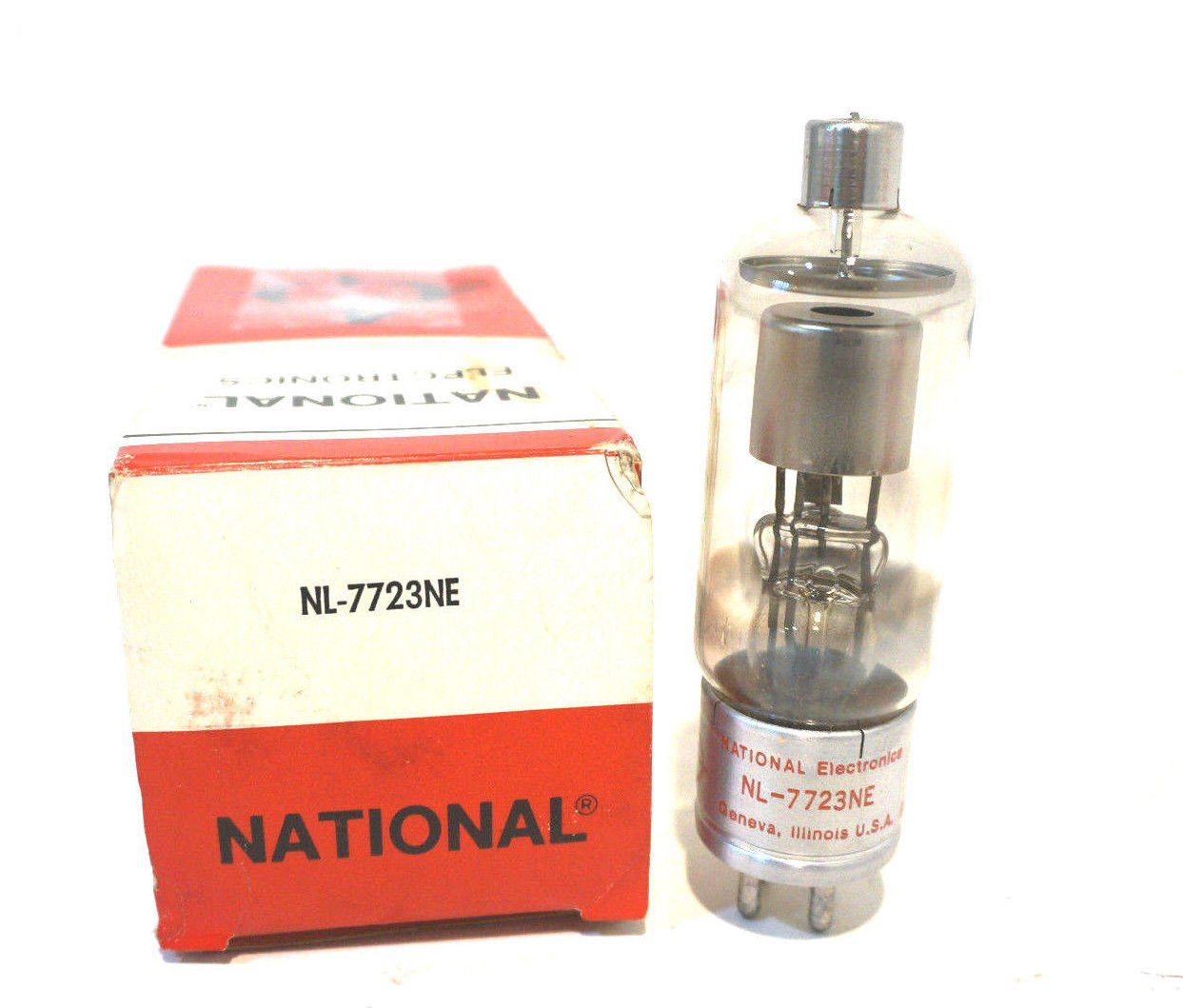 NEW NATIONAL ELECTRONICS NL-7723NE VACUUM TUBE NL7723NE