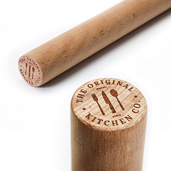 The Original Straight Rolling Pin Baking rolling pins
