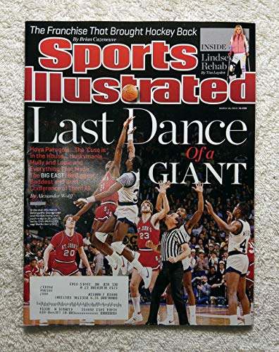(1980's Big East Basketball - Last Dance of a Giant - Patrick Ewing (Georgetown Hoyas) vs Chris Mullin & Walter Berry (St John's Red Storm) - Sports Illustrated - March 18, 2013 - SI)