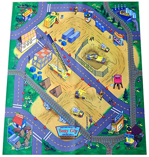 Airport Playmat - Construction Site Felt Play Mat