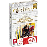 ASS 22584064 Harry Potter-4-in-1 speelbaar als kwarts, mau, schnipp en memo.