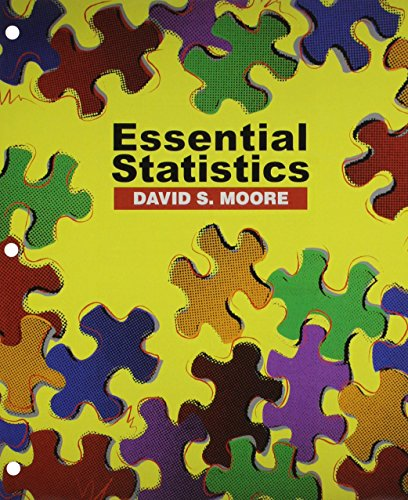 Essential Statistics (Loose Leaf) & CD-ROM