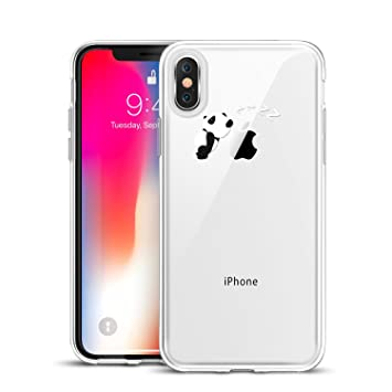 coque panda iphone x