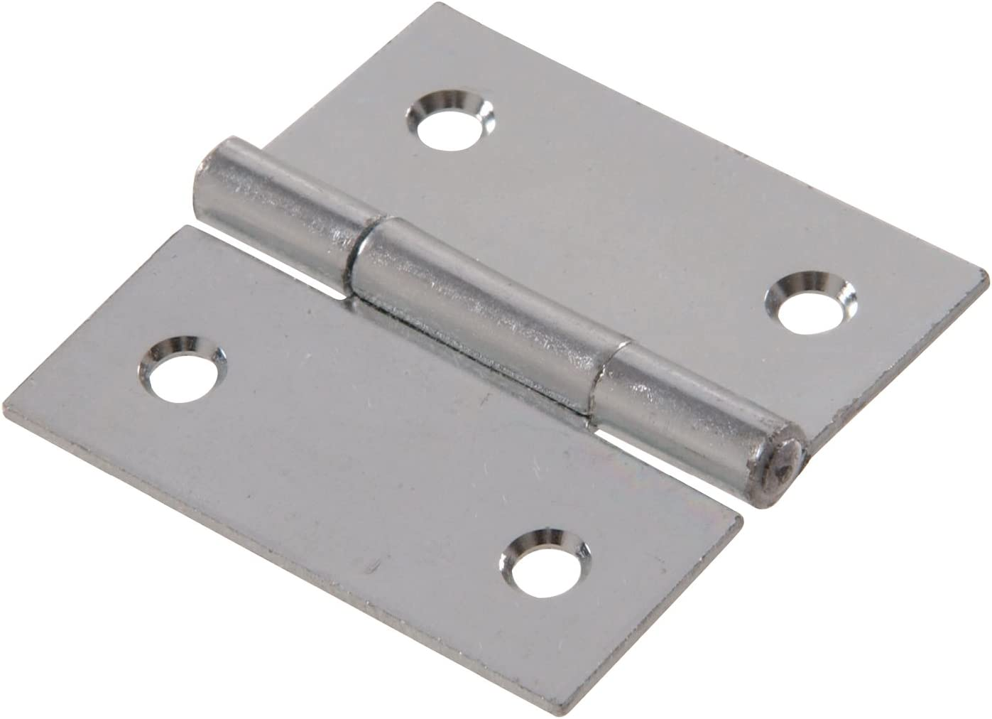 Hillman Hardware Essentials 852816 General Purpose Square Corner Hinges Removable Pin Zinc-plated 2-2 Pack
