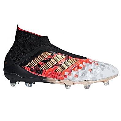 adidas Predator Telstar 18+ FG Cleat Men s Soccer 10 Core Black-Copper  Metallic- 9e6f076fb2bdc