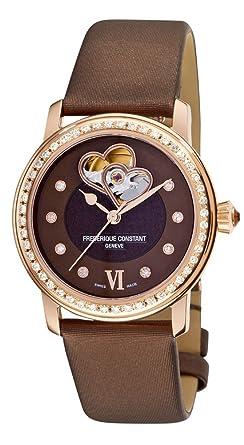Amazon.com: Frederique Constant Heart Beat – Reloj ...