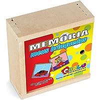 Carlu Brinquedos - Jogo da Memória, 3+ Anos, 40 Peças , Color Multicolorido, 1044
