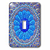 3dRose Danita Delimont - Patterns - Islamic pottery designs. Madaba, Jordan - Light Switch Covers - single toggle switch (lsp_276920_1)