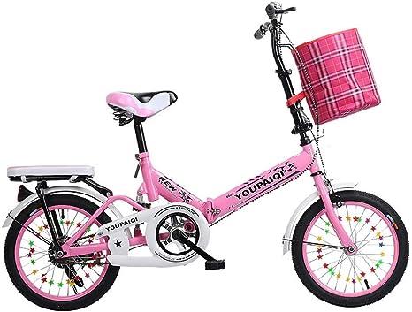 Grimk Bicicleta Plegable para Adultos Rueda De 20 Pulgadas Bici ...