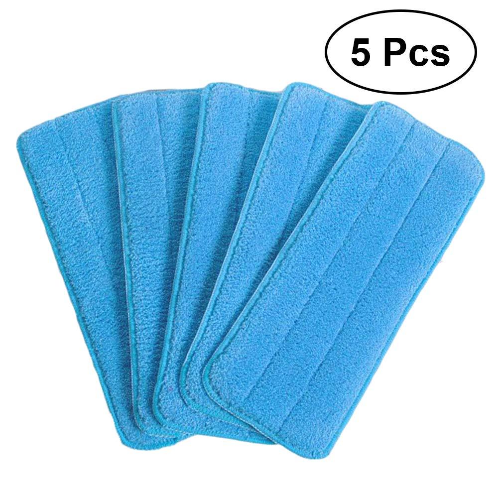 VORCOOL 5 pcs Microfibre Vaporisateur Vadrouille Tê tes Rembourrage Humide Tê tes Recharge La Maison Mé nage Cuisine Nettoyage