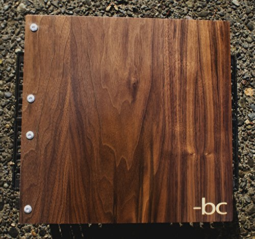 Special Request Wooden Walnut Portfolio/Album/Heirloom/Wedding & Custom Engraving by Infused Motif