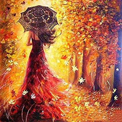 Amazon Com Adarl Diy Oil Painting Paint By Number Kit Image Drawing