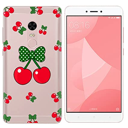 SpiritSun Funda Xiaomi Redmi Note 4, Carcasa Transparente ...