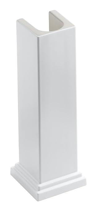 Good KOHLER K 2767 0 Tresham Bathroom Sink Pedestal, White