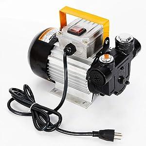 Electric Fuel Pumps, BSTOOL Oil Diesel Fuel Transfer Pump Kit 110V AC Fuel Self Priming Oil 60L/Min 16 GPM 550W