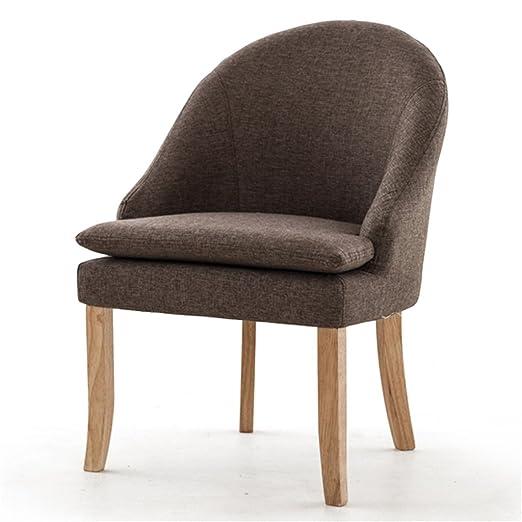 YAnFAn & Sillas Conciso moderno Silla de madera con respaldo ...