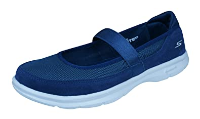 Skechers Go Step Snap Womens Walking Sneakers / Mary Janes - Navy