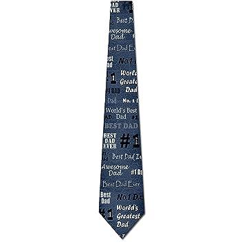 La corbata de los hombres del día del padre La corbata más grande ...