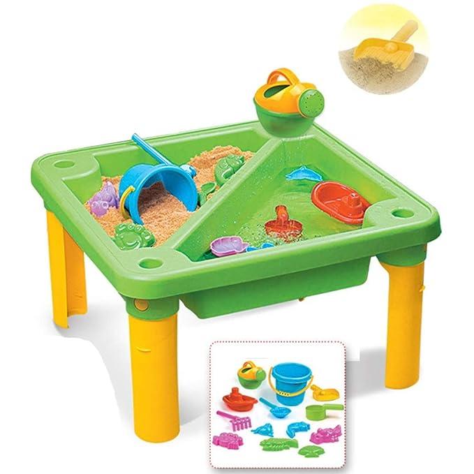 Niños Aprendizaje temprano Arena y agua Mesa de playa Set de ...