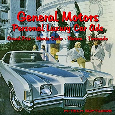 General Motors Personal Luxury Car Ads Grand Prix Monte Carlo