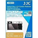 JJC Dedicated Tempered Glass Camera Screen Protector for Fujifilm Fuji X100V X-T4 XT4 Camera, 0.3mm Ultra-Thin, 9H…