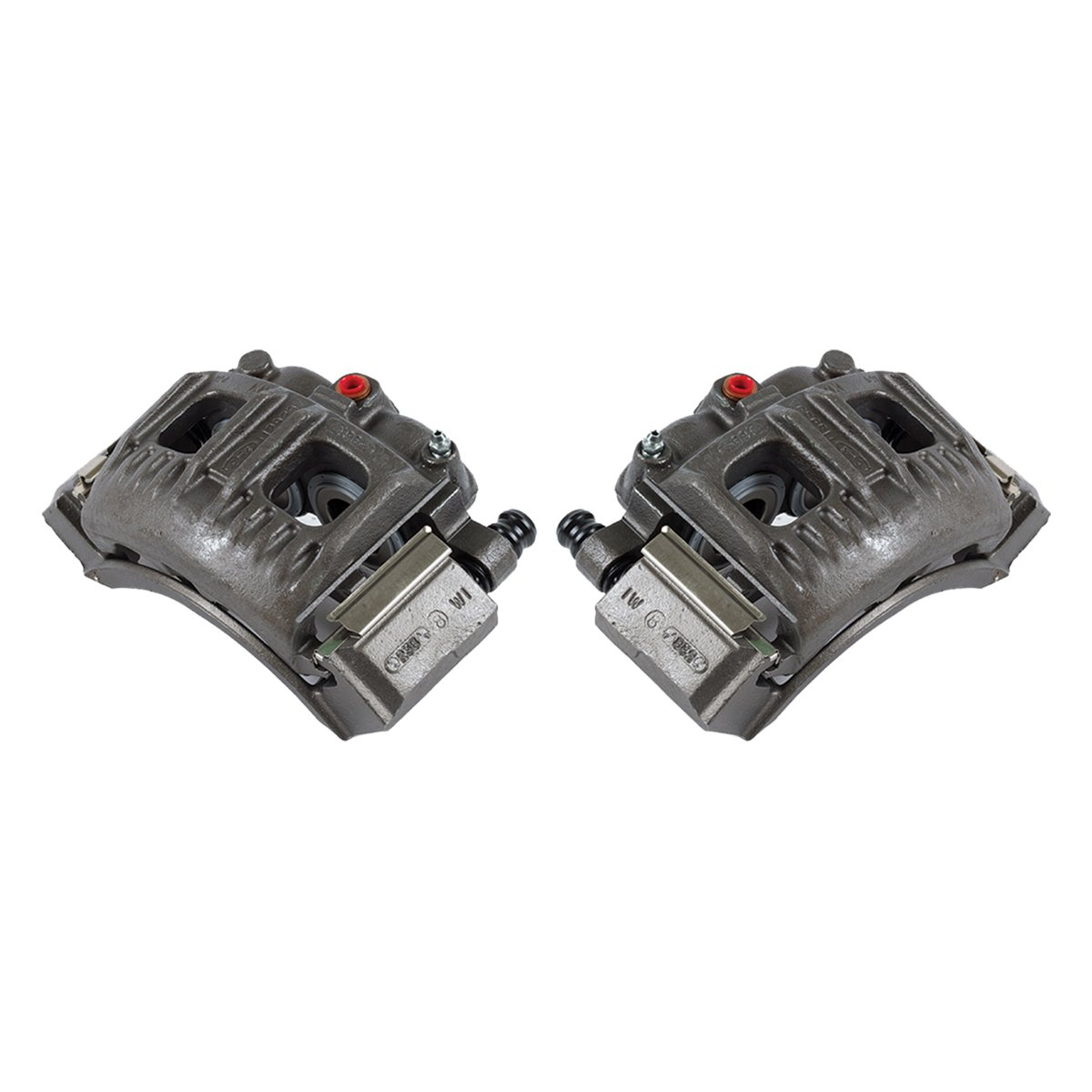 CKOE00962 [ 2 ] FRONT [ 2WD 4WD ] Premium Grade OE Semi-Loaded Caliper Assembly Pair Set