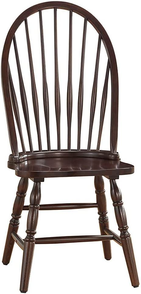Carolina Chair & Table Windsor Dining Chair Espresso