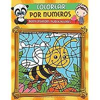 Colorear por Numeros: Libro de Actividades Para colorear