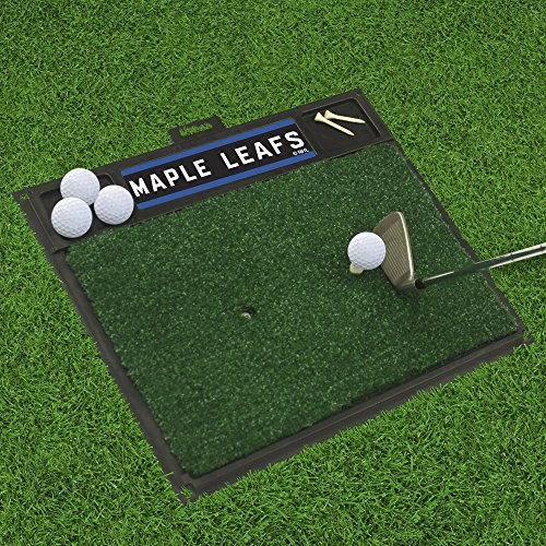 Fanmats 16992 Team Color 20'' x 17'' NHL - Toronto Maple Leafs Golf Hitting Mat by Fanmats (Image #2)
