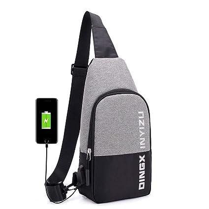 KJSD Bolsa de Deporte Cargador USB Paquete de Cofre de ...