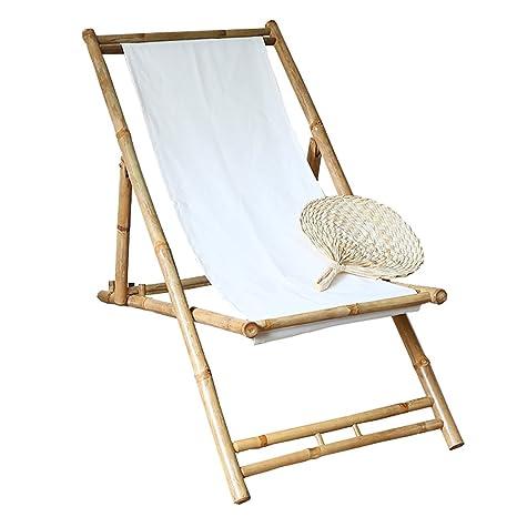 MXXYZ Silla Plegable para el hogar Original bambú Tribal y ...