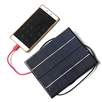 Alomejor - Panel de Cargador Solar portátil para móvil ...