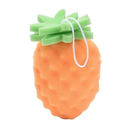 SMENGG Esponja de baño Limpiador para el Cuerpo de Fruta ...