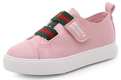 InStar Kids Comfy Hook and Loop Strap Sneakers Shoes