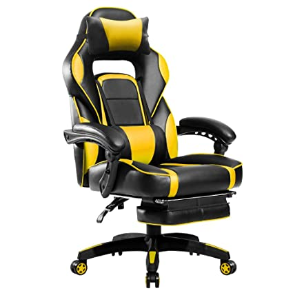 Gaming Chair Yellow And Black