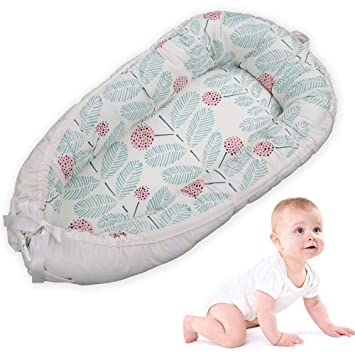 Removable Cover Newborn Cocoon Snuggle Bed Portable Super Soft and Breathable Newborn Infant Bassinet Baby Lounger