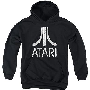 atari felpa  Atari - Felpa con Cappuccio - Maniche Lunghe - Opaco - Ragazzo ...