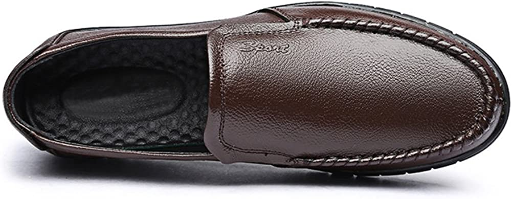 COINED Mens Fashion Office Slip on Driving Loafers Shoes