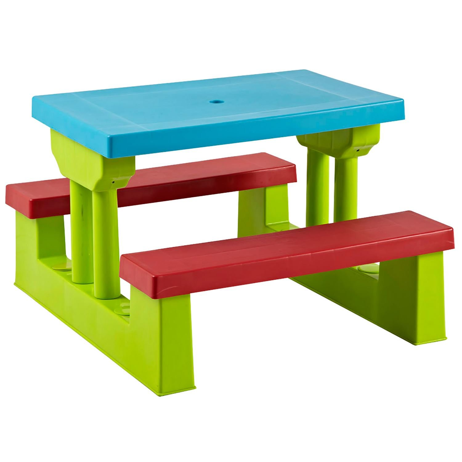 Parkland Colourful Kids Children Picnic Table & Bench Set: Amazon.co ...