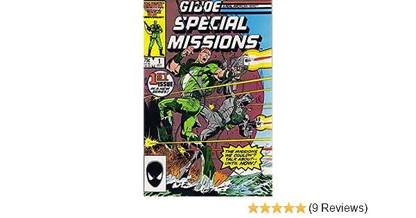Amazon.com: G I JOE Special Missions (1986 Marvel) #1: Larry ...