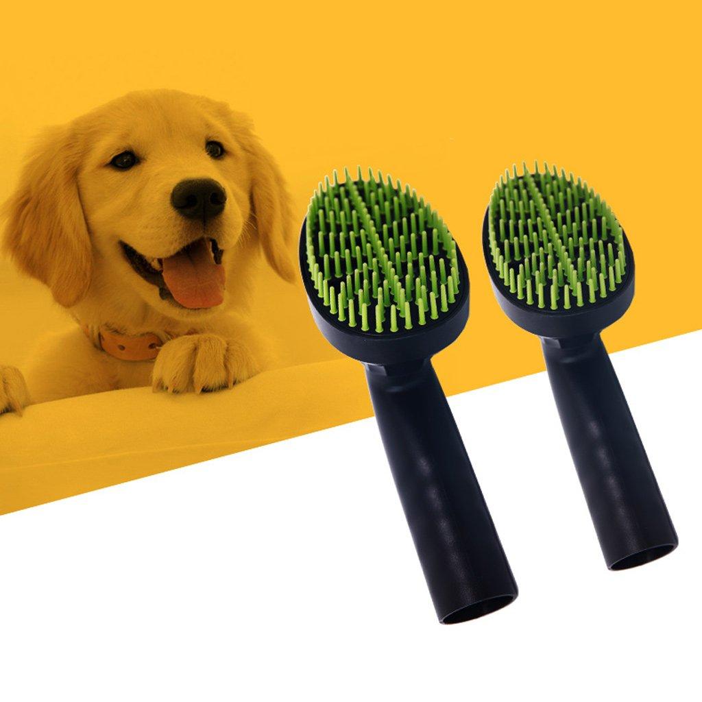 32 mm Huihuay Spazzola per la toelettatura di cani e gatti accessorio per aspirapolvere