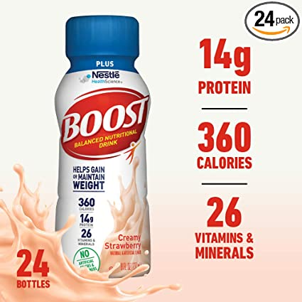 Bebida nutricional completa Boost Plus: Amazon.com: Grocery ...