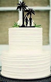 Amazon 80 Years Loved Birthday Cake Topper Elegant 80th