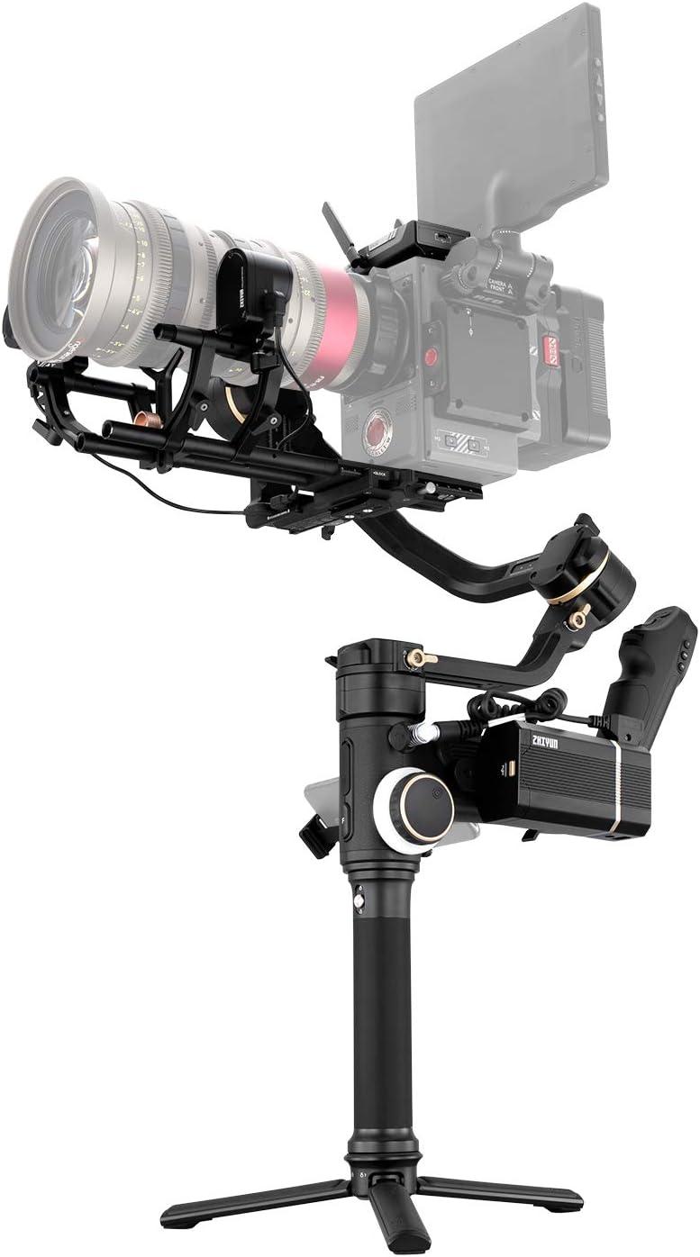 ZHIYUN Crane 3S [PRO KIT] Cinema Camera Gimbal Stabilizer, 6.5KG Payload, Professional Handheld 3-Axis Gimbal Stabilizer for DSLR and Mirrorless Cameras