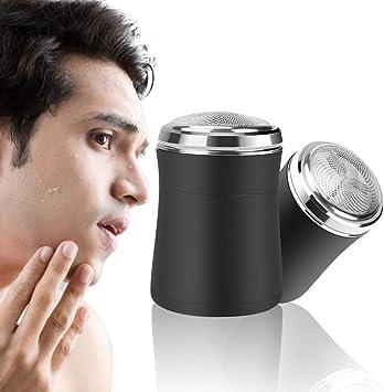 Mini Afeitadora Eléctrica para Hombres, ANLAN Afeitadora Portatil ...