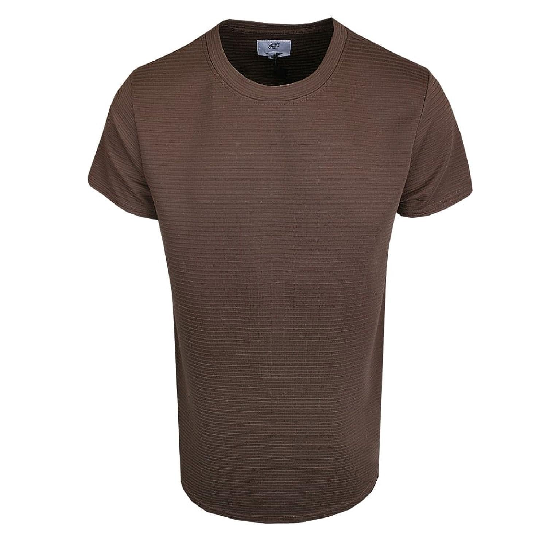 Sixth June M1789VTS Ribbed T-Shirt Brown