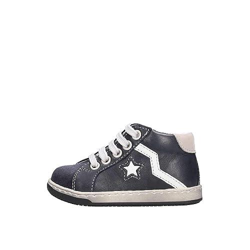 Balocchi Sneakers Alta in Pelle con Lacci e Zip  MainApps  Amazon.it   Scarpe e borse 78b0a2e0fb3